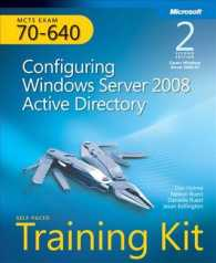 MCTS Self-Paced Training Kit (Exam 70-640) : Configuring Windows Server 2008 Active Directory (2 PAP/CDR)