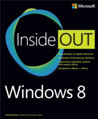 Microsoft Windows 8 inside Out (Inside Out)
