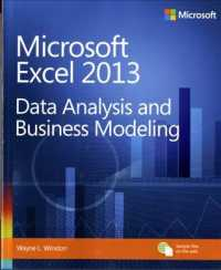 Microsoft Excel 2013 : Data Analysis and Business Modeling