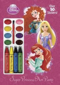 Super Princess Art Party (Disney Princess) (CLR NOV ST)