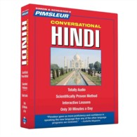 Pimsleur Conversational Hindi (8-Volume Set) (Simon & Schuster's Pimsleur) <8 vols.> (8 vols.)