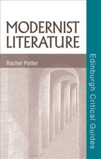 Modernist Literature (Edinburgh Critical Guides to Literature)