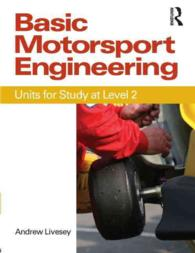Basic Motorsport Engineering : Units for Study at Level 2