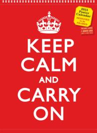 Keep Calm and Carry on 2015 /wall (38x28cm) (WAL)