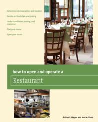 How to Open and Operate a Restaurant (Home-based Business)