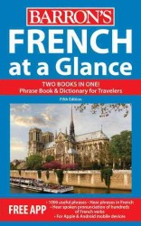 French at a Glance : Phrase Book & Dictionary for Travelers (At a Glance) (5 BLG)