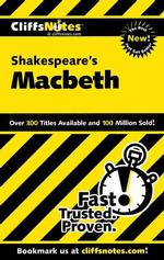 Cliffsnotes Shakespeare's Macbeth (Cliffsnotes Literature)