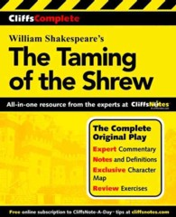 Cliffscomplete Shakespeare's the Taming of the Shrew (Cliffs Notes)