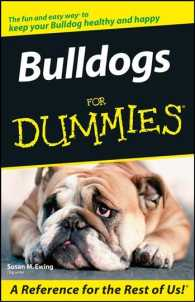 Bulldogs for Dummies (For Dummies (Pets))