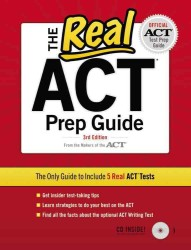 The Real ACT Prep Guide (Real Act Prep Guide) (3 CSM PAP/)