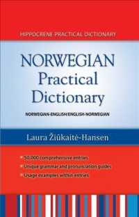 Norwegian Practical Dictionary : Norwegian-english / English-norwegian (Bilingual)