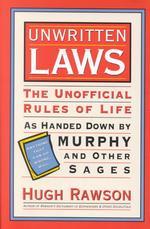 Unwritten Laws