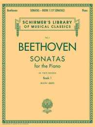 Beethoven Sonatas for the Piano : Book 1 (Schirmer's Library of Musical Classics) (Revised)