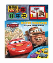 Cars 2 Movie Theater Storybook & Movie Projector (Disney/pixar Cars 2) (HAR/TOY)
