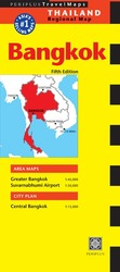 Travel Maps: Bangkok 5 (5 MAP)
