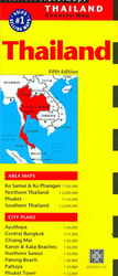 Periplus Travel Maps Thailand Country Map (Periplus Travel Maps) (5 MAP)