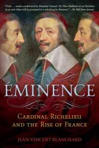 �N���b�N����ƁuEminence : Cardinal Richelieu and the Rise of France�v�̏ڍ׏��y�[�W�ֈړ����܂�