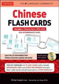 Chinese Flash Cards Kit Vol.2 : HSK Intermediate Level: Characters 350-622 (CRDS/COM/B)