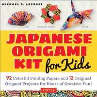 Japanese Origami Kit for Kids : 92 Colorful Folding Papers and 12 Original Origami Projects for Hours of Creative Fun! (PAP/ACC)
