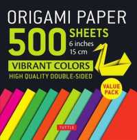 Origami Paper 500 Sheets Vibrant Colors 6 in : Tuttle Origami Paper: High-quality Origami Sheets Printed with 12 Different Colors: Instructions for 8 (UNBND)