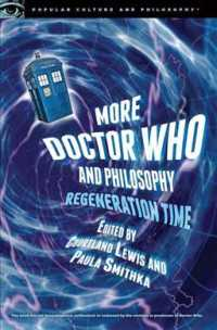 �N���b�N����ƁuMore Doctor Who and Philosophy (Popular Culture and Philosophy)�v�̏ڍ׏��y�[�W�ֈړ����܂�