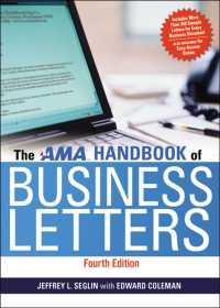 The AMA Handbook of Business Letters (4TH)