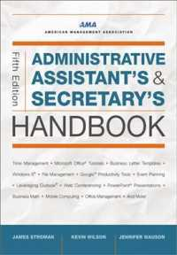Administrative Assistant's and Secretary's Handbook (Administrative Assistant's and Secretary's Handbook) (5TH)