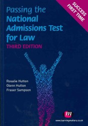 Passing the National Admissions Test for Law (3RD)