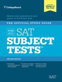 The Official Study Guide for All SAT Subject Tests (Real Sats) (2 PAP/COM)