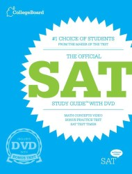 The Official SAT Study Guide (Official Sat Study Guide) (PAP/DVD ST)