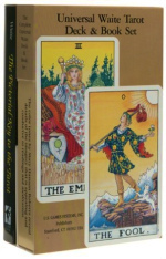 Universal Waite Tarot Deck and Book Set (CRDS)