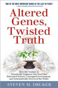 �N���b�N����ƁuAltered Genes, Twisted Truth : How the Venture to Genetically Engineer Our Food Has Subverted Science, Corrupted Government, and Systematically Deceiv�v�̏ڍ׏��y�[�W�ֈړ����܂�