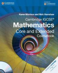 Cambridge Igcse Mathematics Core and Extended Coursebook (Cambridge International Examinations) (PAP/CDR)