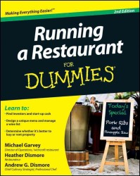 Running a Restaurant for Dummies (For Dummies (Business & Personal Finance)) (2ND)