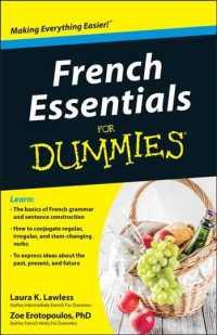 French Essentials for Dummies (For Dummies (Language & Literature)) (Bilingual)