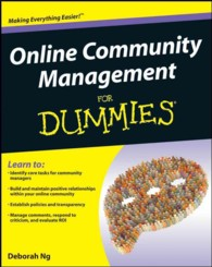 Online Community Management for Dummies (For Dummies)