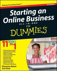 Starting an Online Business All-In-One for Dummies (For Dummies) (3RD)