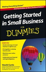 Getting Started in Small Business for Dummies -- Paperback (Australian)