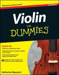 Violin for Dummies (For Dummies (Sports & Hobbies)) (2 PAP/CDR)