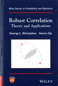 �N���b�N����ƁuRobust Correlation : Theory and Applications (Wiley Series in Probability and Statistics)�v�̏ڍ׏��y�[�W�ֈړ����܂�