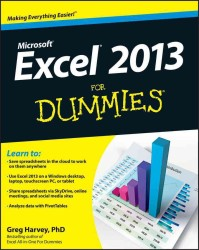 Excel 2013 for Dummies (For Dummies (Computer/tech))
