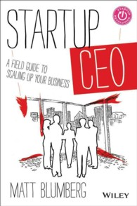 Startup CEO : A Field Guide to Scaling Up Your Business