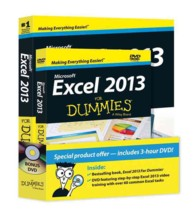 Excel 2013 for Dummies (For Dummies (Computer/tech)) (PAP/DVD)