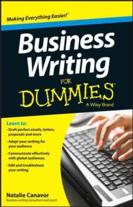 Business Writing for Dummies (For Dummies (Business & Personal Finance))