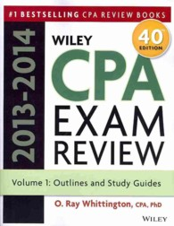 Wiley CPA Examination Review 2013-2014 (Wiley CPA Examination Review) (40TH)