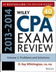 Wiley CPA Examination Review 2013-2014 : Problems and Solutions (Wiley CPA Examination Review Vol 2: Problems and Solutions) (40)