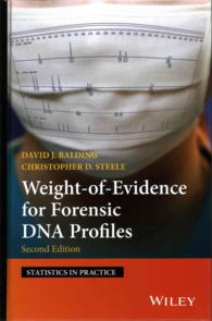 �N���b�N����ƁuWeight of Evidence for Forensic DNA Profiles (Statistics in Practice)�v�̏ڍ׏��y�[�W�ֈړ����܂�