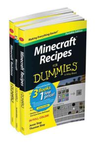 Minecraft for Dummies Collection (3-Volume Set) : Portable Edition (For Dummies) <3 vols.> (3 vols.) (PCK)