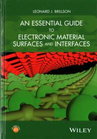 �N���b�N����ƁuAn Essential Guide to Electronic Material Surfaces and Interfaces�v�̏ڍ׏��y�[�W�ֈړ����܂�