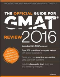 The Official Guide for GMAT Review 2016 (Official Guide for Gmat Review) (PAP/PSC)
